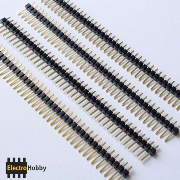tira 40 pin dorado
