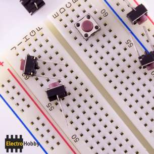 Pulsador 6x6x5 Protoboard R