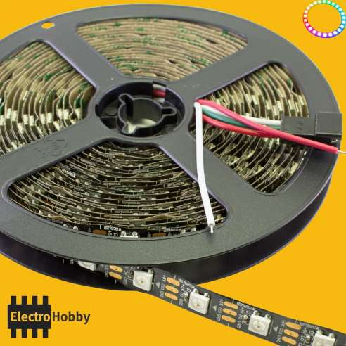 Bobina 5 m WS2812B (60led/m) IP30