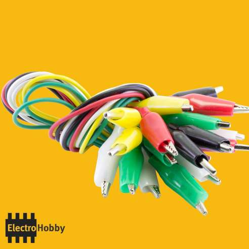 5x Cable Pinza colores