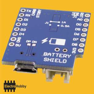 WEMOS Battery Shield