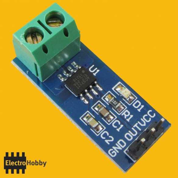 Sensor de Corriente 20A