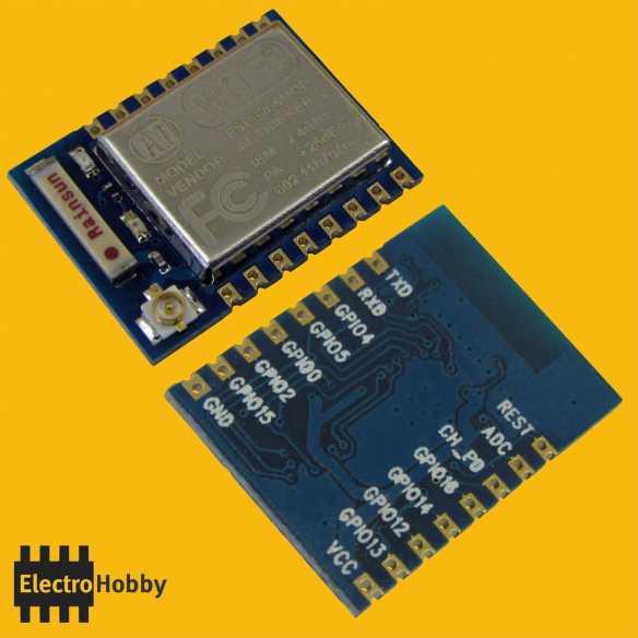 Transceptor WIFI ESP8266 Esp-07 I/O