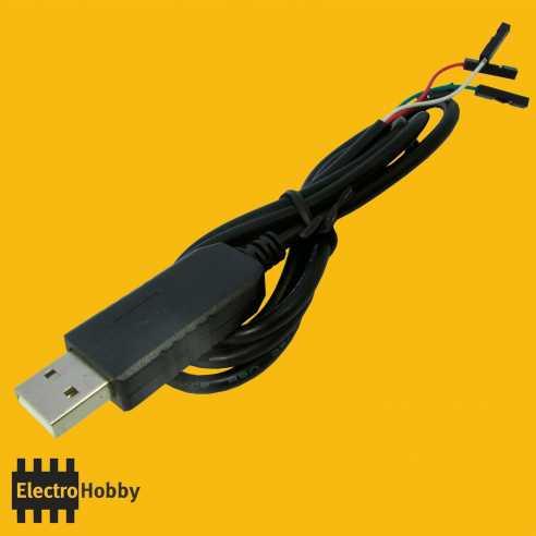 Cable USB Serie TTL PL2303HX