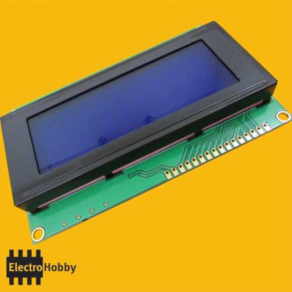 LCD 2004 Azul
