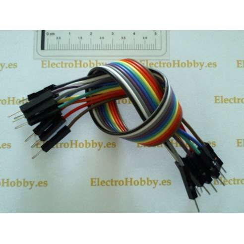 10x Cables M-M pin