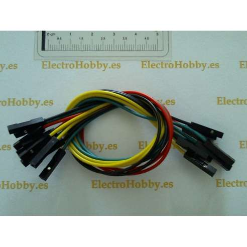 10x Cables H-H pin