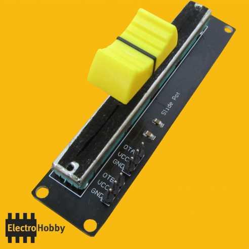 Modulo Potenciometro Slider 5K