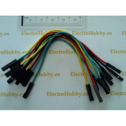 10x Cables H-H pin 10cm