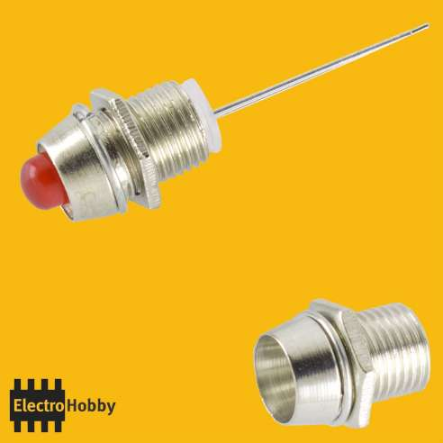 Mirilla metalica Led 5mm
