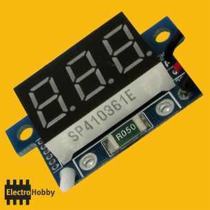Amperimetro 0-999mA