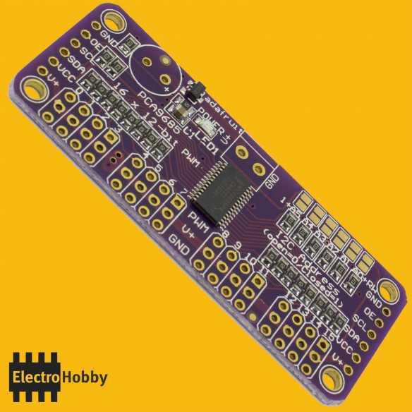 PCA9685 Controladora 16 servos