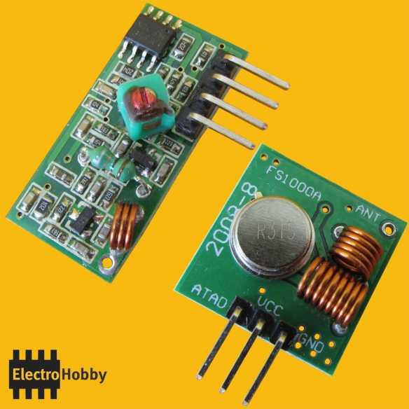 Enlace RF 433Mhz