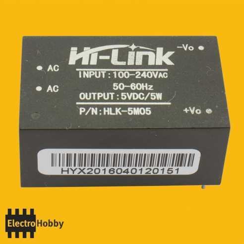 HLK-5M05 AC-DC 5V-5W 1A
