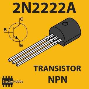 10x Transistor NPN 2N2222A