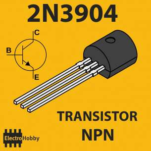 10x Transistor NPN 2N3904