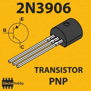 10x Transistor PNP 2N3906