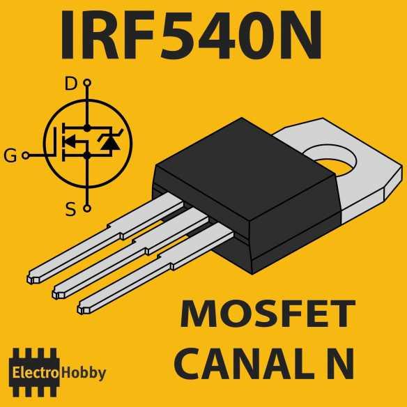 Mosfet N IRF540N