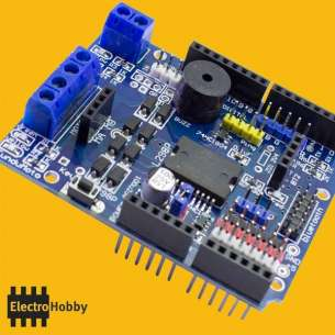 L298P Motor Shield Arduino