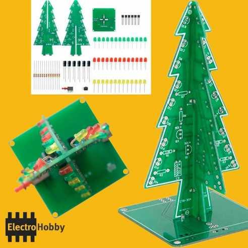 Kit Arbol de Navidad - Led 3mm