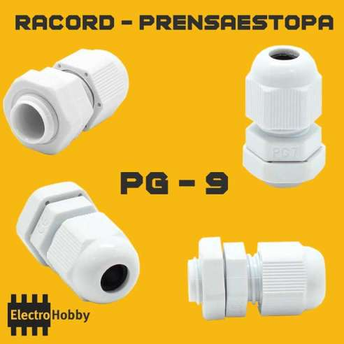 Prensaestopa PG-9