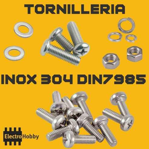 Tornilleria Inox 304