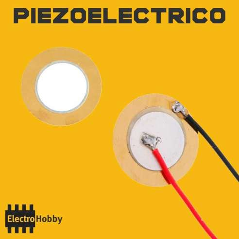 Disco piezoelectrico