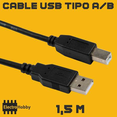 Cable USB Arduino 1,5m
