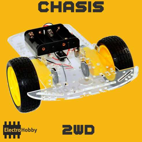 Chasis Smart Car 2WD
