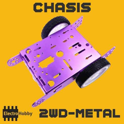 Chasis Smart Car 2WD Metal