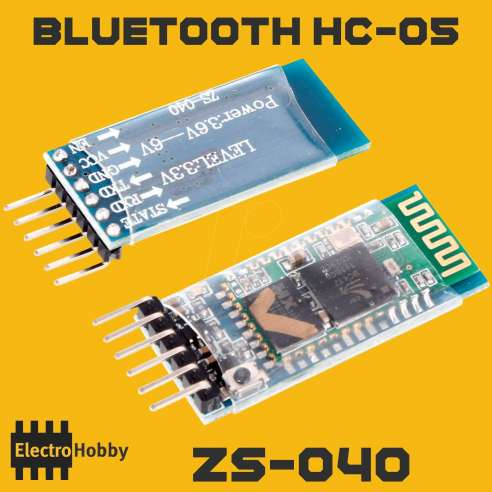 Bluetooth HC-05 ZS-040