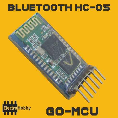 Bluetooth HC-05 GoMCU