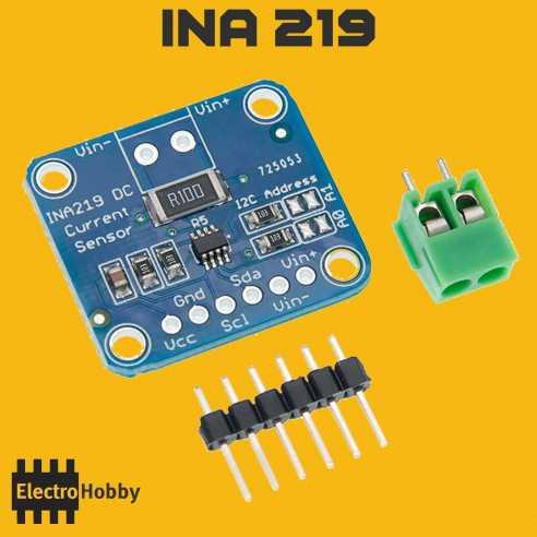 Sensor de Corriente INA219
