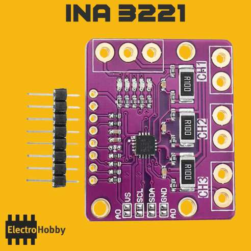 Sensor de Corriente INA3221
