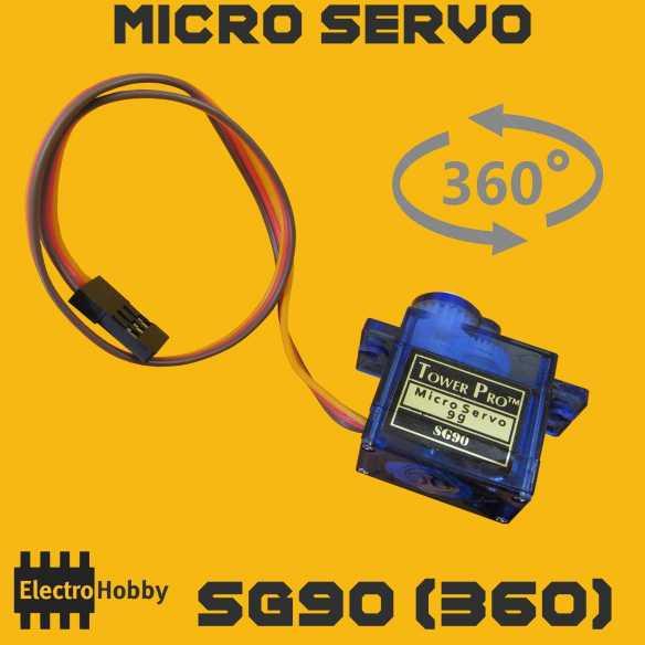 Micro Servo SG90 rotacion continua