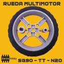 Rueda multimotor