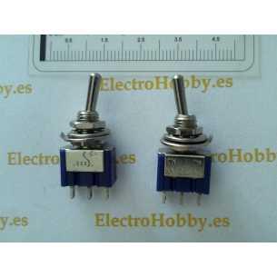 Interruptor basculante 1C-2P