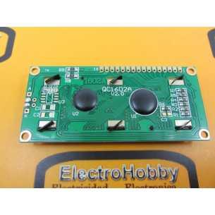 LCD 1602 Azul