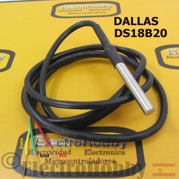 Sensor Temperatura DS18B20 WP