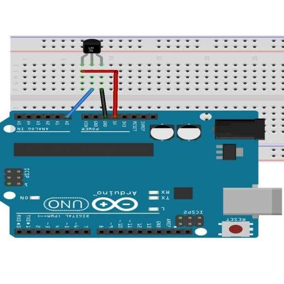 Sensor Temperatura LM35