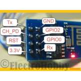 Transceptor WIFI ESP8266