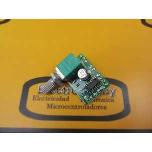 Amplificador Estereo PAM8403 Pot.