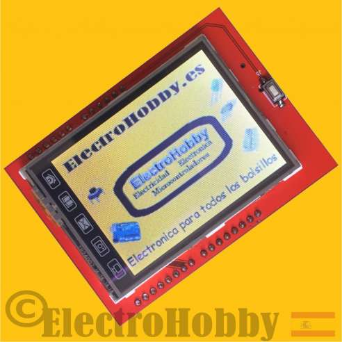 Shield LCD TFT Tactil de 2,4""