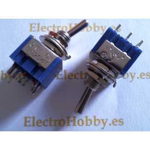 Interruptor basculante 2C-3P