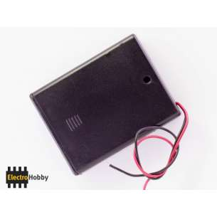 Battery Holder 4xLR3 (AAA)